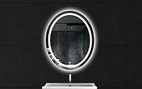 Зеркало в ванную овальное с LED подсветкой, 16Вт 80х60см, 4000К