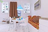 Однотонная декоративная ткань цвета кожуры апельсина Испания 82454v15, фото 2