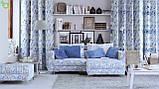 Декоративная ткань с волшебными классическими узорами на шевронах Испания 82882v1, фото 2