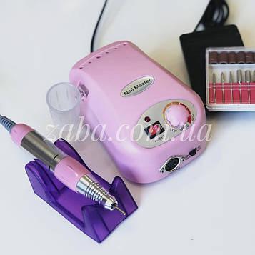 Фрезер ZS-217 Nail Master, 30000 об/мин, розовый