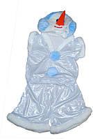 Костюм Снеговик лазер (Патик),р.30-32 150216-337