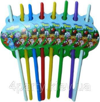 Трубочки праздничные Смешарики 250216-443