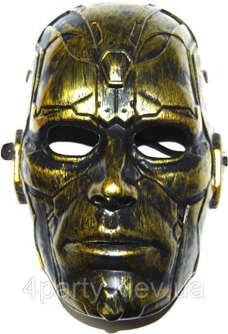 Маска Спирит (золото) 240216-037