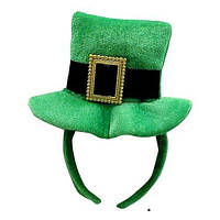 Шляпа Святого Патрика на обруче (Зеленая) 11-36GR