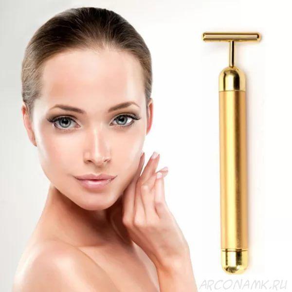 Ионный массажер для омолаживания кожи лица Energy Beauty Bar