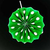 Фант горошек (зеленый) 030617-007