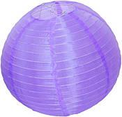 Фонарик ткань 25см (фиолетовый) 1507179-038