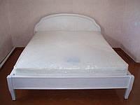 """Кровать №2 двухспальная """"Эпоха"""" из натурального дерева"""