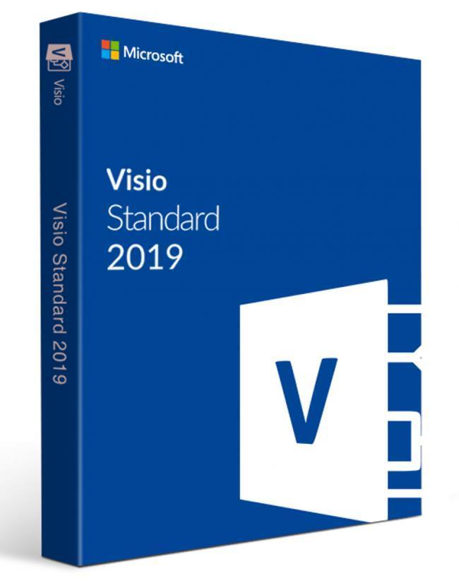 Microsoft Visio Std 2019 32/64 Russian EM DVD (D86-05813)