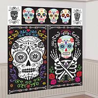 Декорация на стену День мертвых 3501-0226