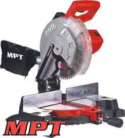MPT  Станок торцовочный по дереву PROFI 2200 Вт, 255*25.4 мм, 4500 об/мин, платформа 0-45*, Арт.: MMS2503