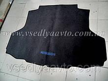 Ворсовый коврик в багажник на Mitsubishi Iancer 9 с 2003 г. седан (Серый)