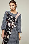 2271 Платье Ромари, синий (S), фото 2