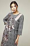 2271 Платье Ромари, серый (S), фото 2