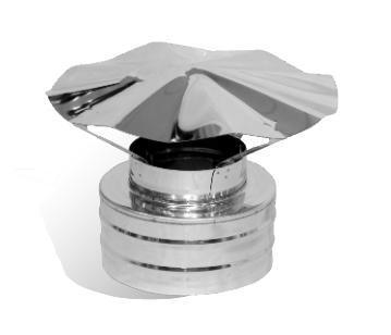 Грибок сэндвич VERSIA-LUX нерж./нерж. Ø160/220мм