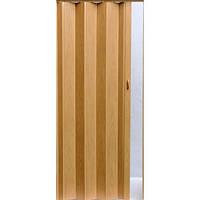 Раздвижная дверь гармошка Vivaldi Польша.203х84х8мм. Дуб (№283).Высококачественный ПВХ. Двери гармошка.