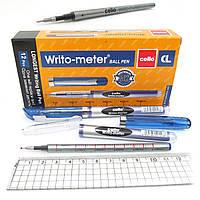 "Ручка масляная ""Writo-meter"" 10 км 0,5мм синяя"