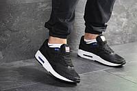 Кроссовки мужские черно белые Nike Air Max Zero QS, мужские весенние кроссовки  (Реплика)