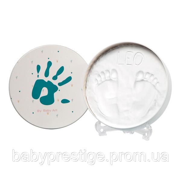 Набор для оттиска ручек и ножек Baby art Магическая коробочка Круглая
