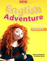 New English Adventure Starter B Pupil's book+DVD