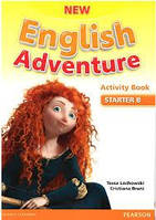 New English Adventure Starter B Activity book+CD