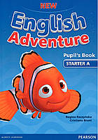New English Adventure Starter A Pupil's book+DVD