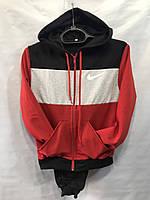 Детский спортивный костюм весна-осень Найк (36-44) красный оптом