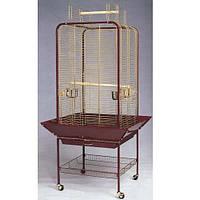 Вольер золотой A 16 c открывным верхом и антимусорником. 59(80)*59(80)*150