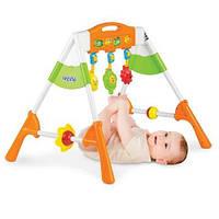 """Игрушка для деток от рождения """"Счастливый малыш"""" - это полезный и интересный игровой центр для самых маленьких"""