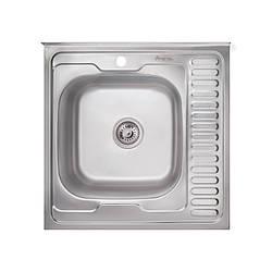 Кухонная мойка Imperial 6060-L (0,6мм) Satin