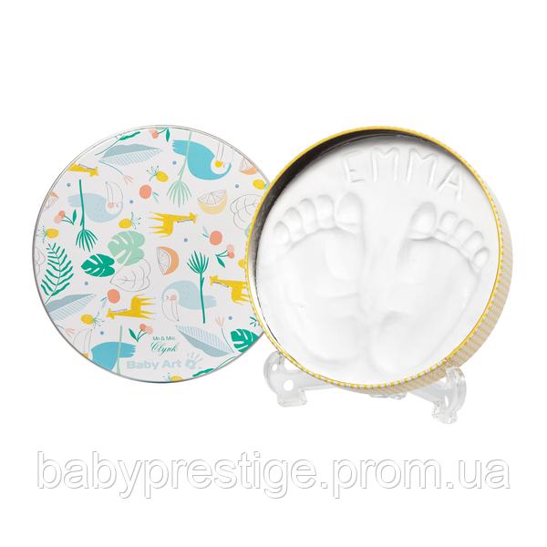 Набор для отпечатков ручек и ножек Baby art Магическая коробочка Тукан