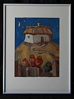 Картина аквареллю та гуашью, картина в інтер'єр