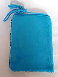 Сумочка детская с единорогом, голубая, фото 2