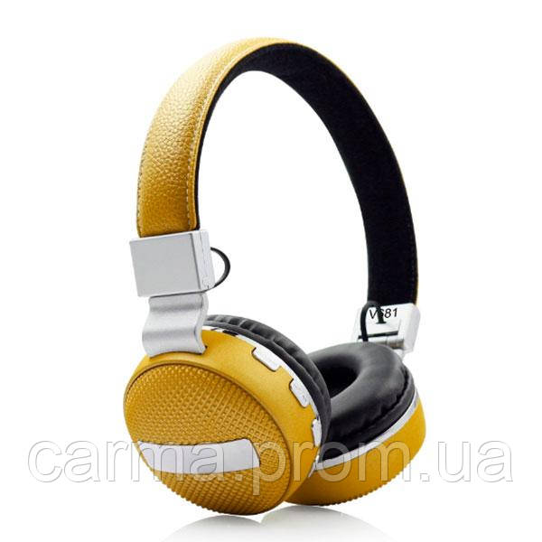 Наушники SVN Headset V681 Gold