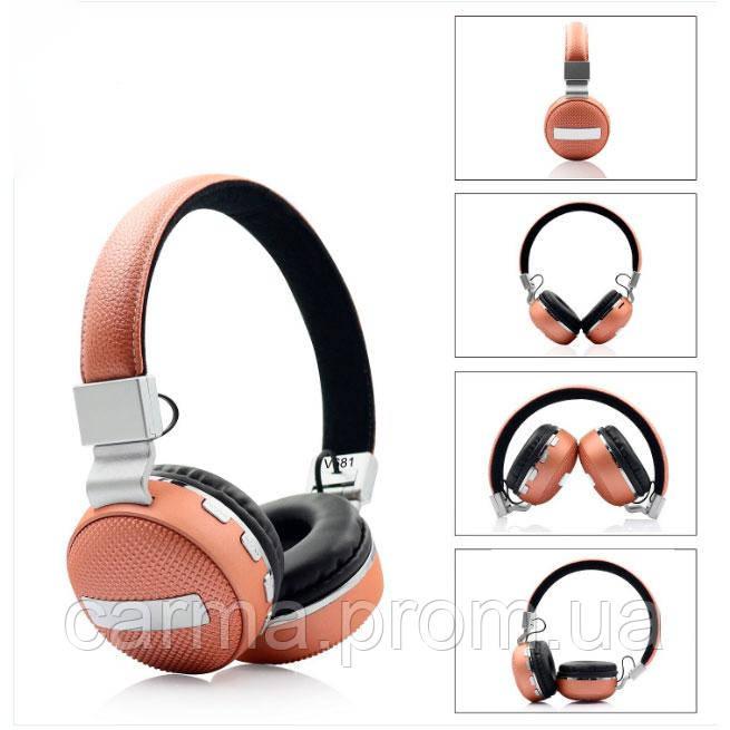 Наушники SVN Headset V681 Orange