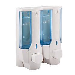 Дозатор для мыла двойной POTATO P404