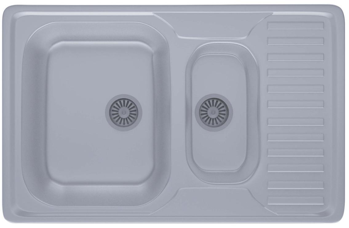 Кухонная мойка из нержавеющей стали ULA HB 7301 ZS SATIN
