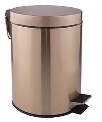 Ведро для мусора 5 литров Q-TAP Liberty ANT 1149 бронза
