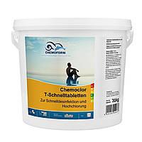 Chemochlor-T-Schnelltabletten (табл. 20 г) 30 кг Засіб для інтенсивної обробки води в басейнах