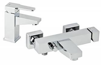 Набор смесителей для раковины и ванны GENEBRE Kenjo 02KE-bath