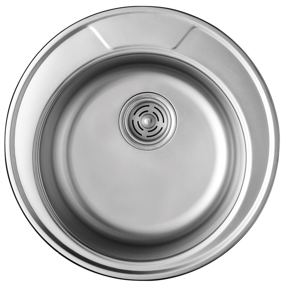 Кухонная мойка из нержавеющей стали ULA HB 7104 ZS SATIN