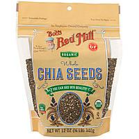 Bob's Red Mill, Органические цельные семена чиа, 12 унций (340 г)