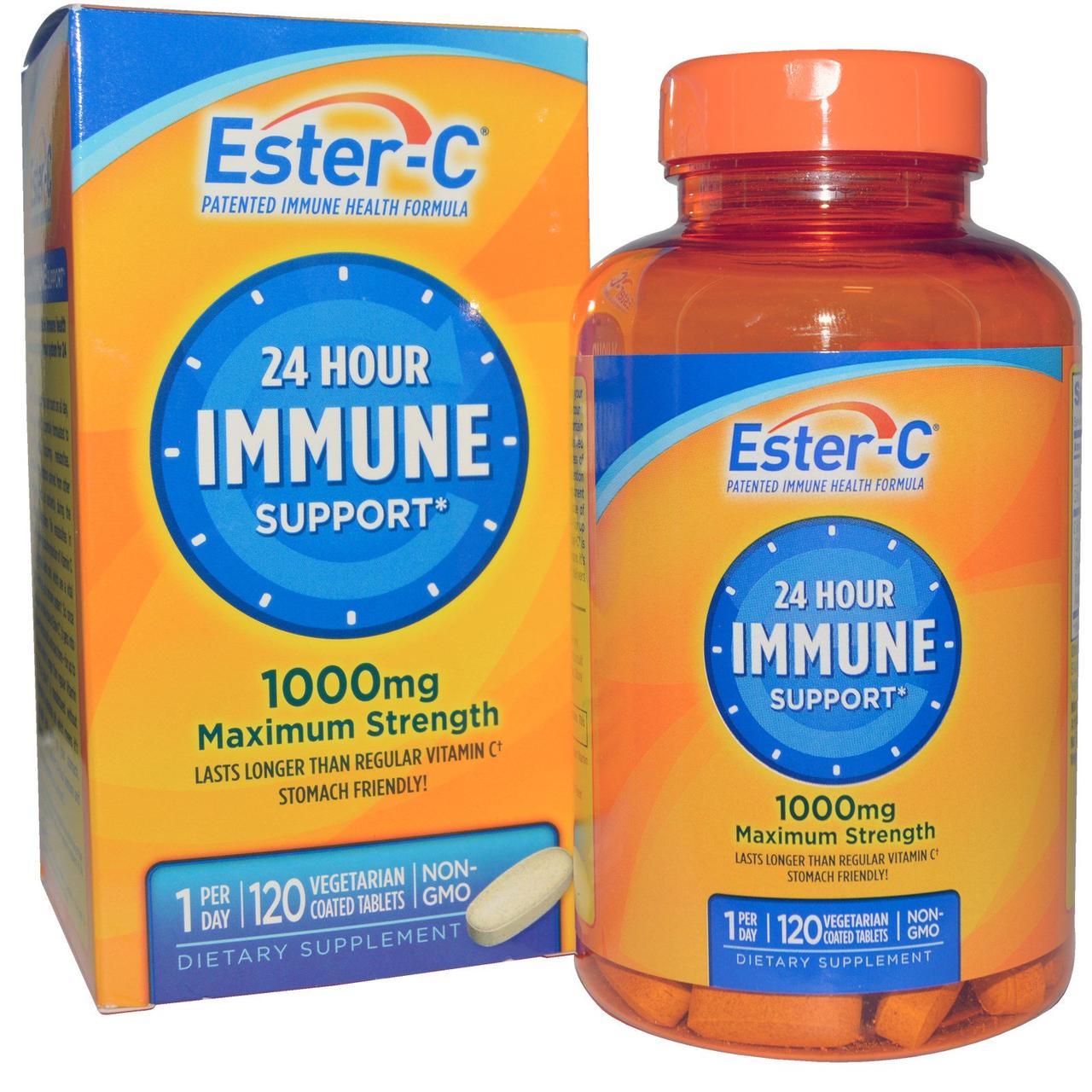 Улучшенный витамин С Эстер-C, 1000 мг, 120 таблеток
