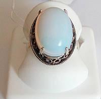 Кольцо из серебра Империя с лунным камнем, фото 1