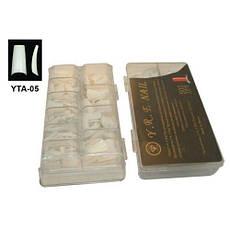 Типсы для наращивания белые с узкой контактной зоной, 500 шт