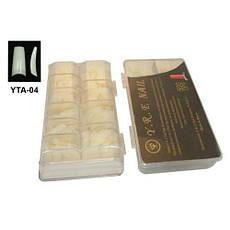 Типсы для наращивания матовые с узкой контактной зоной, 500 шт