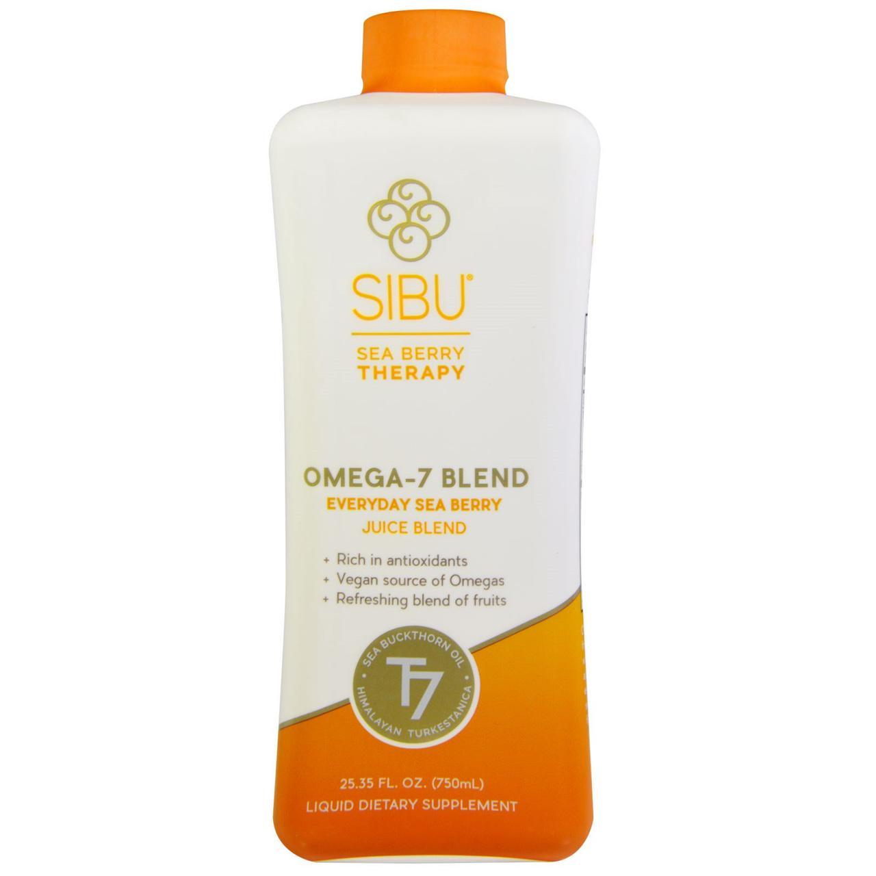 Жидкая смесь омега-7 Sibu Beauty, смесь с облепиховым соком 750 мл
