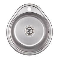 Кухонная мойка Imperial 4843 (0.6мм) Satin