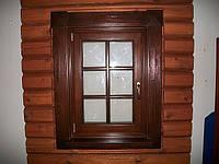 Окна деревянные со стеклопакетом, фото 1