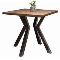 Стол обеденный Свен 4 ноги Квадратный - Металл-Дизайн